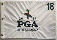 2019 Pga golf flag bethpage black championship embroidered pin flag new