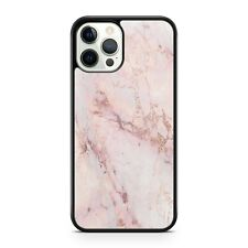 Pretty Pink Mixed Coloured Elegant Marble Stone Rock Pattern Phone Case Cover