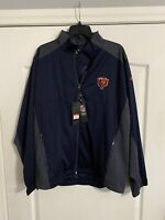 NWT Antigua Golf L NFL Chicago Bears Zip Up Jacket