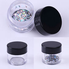 2pcs Nail Art Empty Case Glitter Rhinestone Tips Container Box Manicure Tool