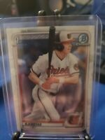 2020 BOWMAN CHROME BD122 HESTON KJERSTAD RC BALTIMORE ORIOLES