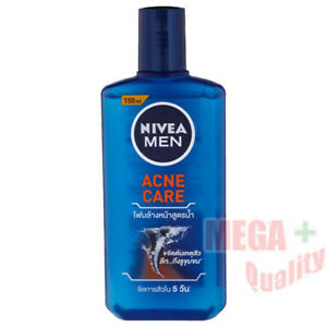 150ml NIVEA For Men Acne Care Liquid Foam Normal - Oily Skin Facial Wash