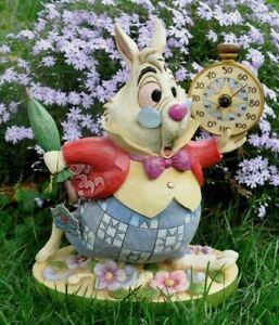 "Jim Shore Disney Traditions ""ALICE IN WONDERLAND WHITE RABBIT"" THERMOMETER"