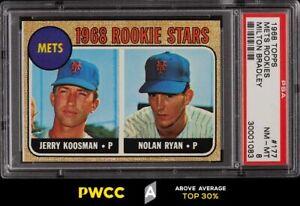 1968 Topps Milton Bradley Nolan Ryan ROOKIE RC #177 PSA 8 NM-MT (PWCC-A)
