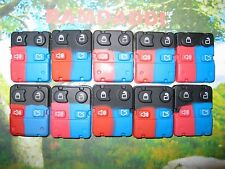 10 New Replacement 4 Button Remote Key Fob Transmitter Pad Focus Taurus Mustang