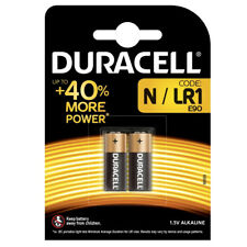 GENUINE 2 x DURACELL N MN9100 1.5V ALKALINE BATTERY LR1 E90 AM5 SECURITY REMOTE