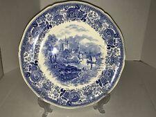 "Villeroy & Boch  Burgenland 12"" Blue Transfer Plate Charger Platter - EUC"