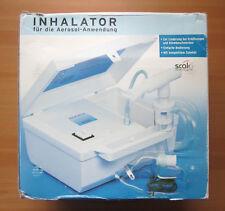 Inhalator SCALA SC 110 Microplus Inhalationsgerät Kompressor inkl. Zubehör OVP