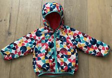 PATAGONIA Girl's 2T Hooded Jacket Reversible Toddler Pink Zip Coat puff
