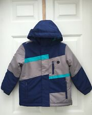 ATHLETECH Boys 3 in 1 Blue Gray Jacket Winter Coat XS 4 5 NWT$50 Water Resistant