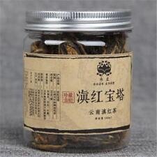60g Yunnan Small Pagoda Dianhong Black Tea Pu-erh Tea Canned Handmade Red Tea
