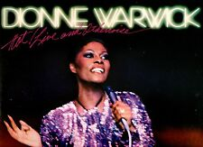 DIONNE WARWICK  doppio disco 2 LP 33 giri HOT LIVE AND OTHERWISE made in USA 81