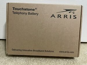 NEW OPEN BOX ARRIS CABLE MODEM PHONE BACKUP BATTERY MODEL TB130 FOR TM3402