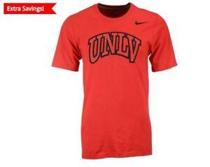 NEW $27 NIKE NCAA UNLV RUNNIN REBELS RED T-SHIRT Medium M
