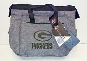 Green Bay Packers NFL Logo On the Go Insulated Cooler Lunch Bag Picnic Time Tote