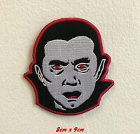 Dracula shirt jeans art Iron on Sew on Embroidered Patch