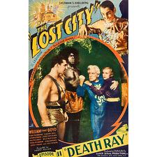 The Lost City - Classic Cliffhanger Serial Movie DVD William Boyd  Kane Richmond