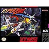 HyperZone Super Nintendo Game SNES Used