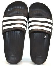 Adidas Duramo Slide K G06799 Black/ White US Size 1K - FREE SHIPPING - BRAND NEW