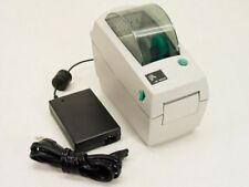 Zebra LP2824 Thermo Direct 6cm Barcode Label printer with Ethernet RJ-45