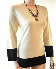 Traumhaft Biba Pullover/ Shirt Ethno Chic Sand Neu 3 L 42-44