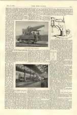1894 SHARP Stewart ATLAS opere Paint Shop Gru Locomotiva NIAGARA Hall Pista Da Pattinaggio