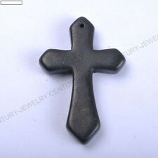 1pcs Wholesale Lots Mixed Turquoise Howlite Cross Gemstone Pendant Bead 44X28MM