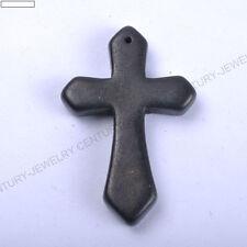 1pcs Wholesale Lots Mixed Turquoise Howlite Cross Gemstone Pendant Bead 44X28MM