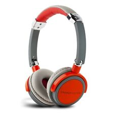 Energy Sistem Energy Red and Grey DJ 410  DJ Style Street Headphone with Mic