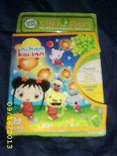 """""""NEW"""" NI HAO KAI-LAN Leap Frog ClickStart game cartridge nip pre-K-K years 3-6"""