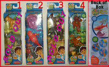 GO DIEGO - 3 pk FIGURES Pick Safari or Ocean Characters FISHER PRICE Toys - NEW
