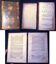 1774 ALEXANDER GERARD ESSAY ON GENIUS GOOD PROVENANCE 1st EDITION