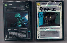 Star Wars CCG Ref Reflections 1 I Complete Very Rare Foil Set Luke Leia Red 5