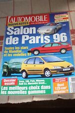L'automobile - N° 603 - Porsche Boxster - 406 break - Mégane Scénic - Polo - 96