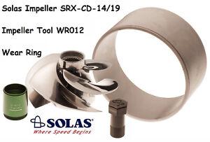 Solas SeaDoo Impeller W/ Wear Ring & Tool SRX-CD-14/19 RXTX 255 RXT RXP Wake 215