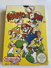 Nintendo NES Game Mario & Yoshi Red Strip Sealed