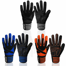 Fitness Gloves Full Finger Fit Gym Lifting Weight Exercise Wrist Wrap Workout