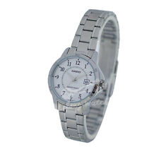 -Casio LTPV004D-7B Ladies' Analog Metal Watch New & 100% Authentic