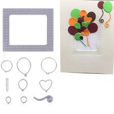 Metal Frame Balloon Cutting Dies Stencil DIY Scrapbooking Paper Card Embossing