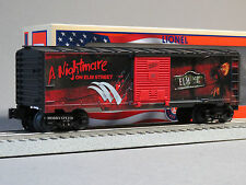 LIONEL A NIGHTMARE ON ELM STREET BOXCAR O GAUGE train MADE IN USA 6-83162 NEW
