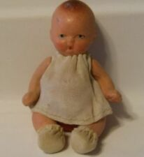 Vintage Old Antique Baby Doll Bone China From Japan Moving Arms & Legs Rare