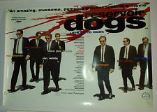 "Quentin Tarantino Reservoir Dogs "" lets go to work "" cinema movie poster"
