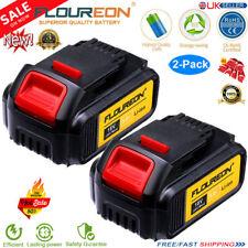2x 18V 5Ah Li-ion Battery for DEWALT DCB184 DCB182 DCB200 DCB180 XR COMBI Slide