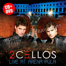 CD+DVD 2Cellos Live at Arena Pula Special Edition NEW & ORIGINAL 2 Cellos