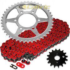 Red O-Ring Drive Chain & Sprockets Kit Fits SUZUKI GSX-R1100W GSXR1100W 1995-98