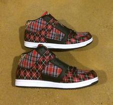 DC Manteca LTX Woman's Size 9.5 True Red Black Cheetah BMX Skate Shoes Sneakers