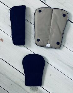 Mamas and Papas MYLO SOLA URBO 2 PUSHCHAIR SHOULDER CROTCH HARNESS PADS NAVY NEW