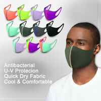 Washable Adult Unisex Soft Face Mask Mouth Cover Masks Protective Reusable Mask