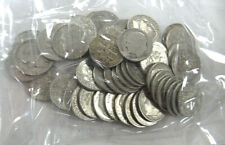US $5.00 FACE SILVER Roosevelt DIMES, All Dated 1964 OR BEFORE - 50 COINS TOTAL!