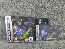 Gameboy Advance R-TYPE III 3 Official BOXED & COMPLETE GBA PAL UK